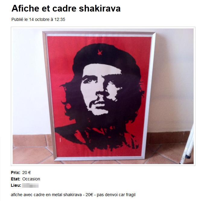 Affiche et cadre Shakirava