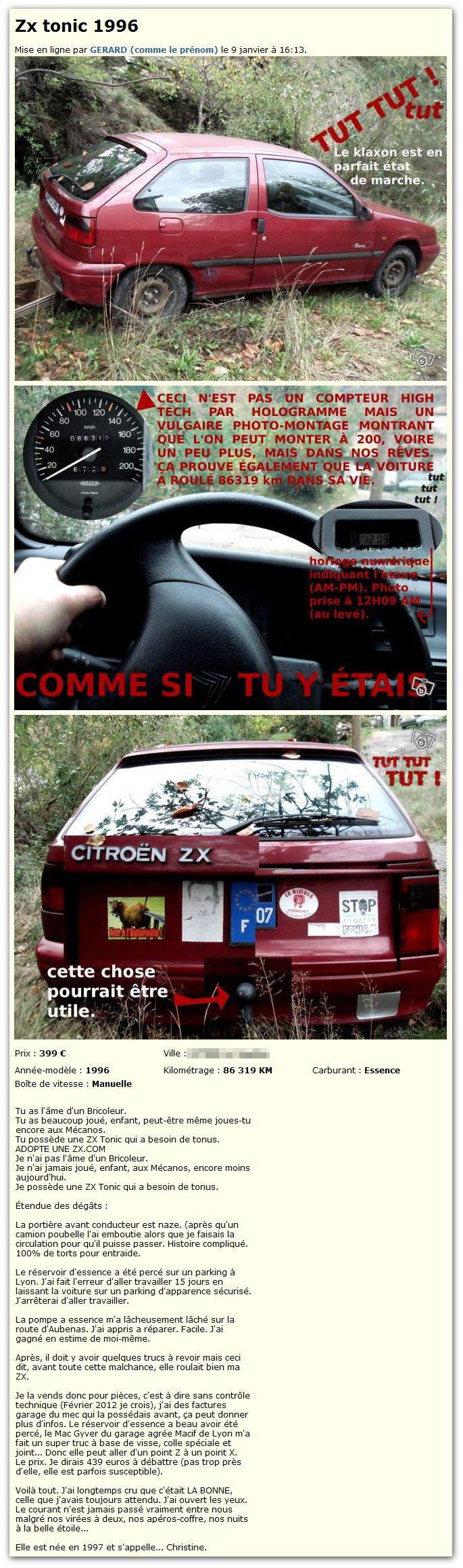 Citroën ZX tonic