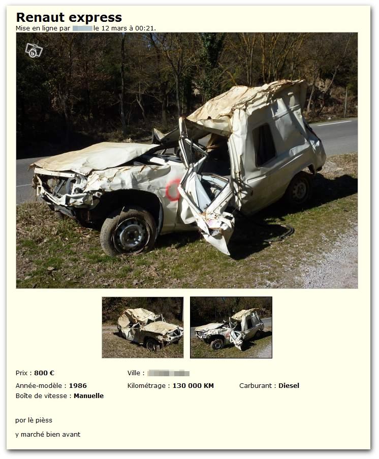 Renault Express (y marché bien avant)