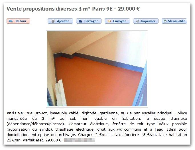 La crise du logement.