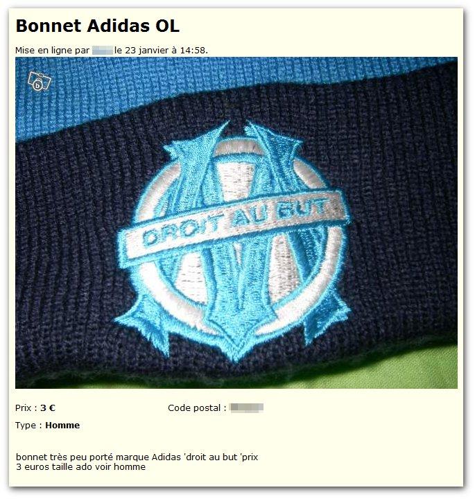 Bonnet Adidas OL
