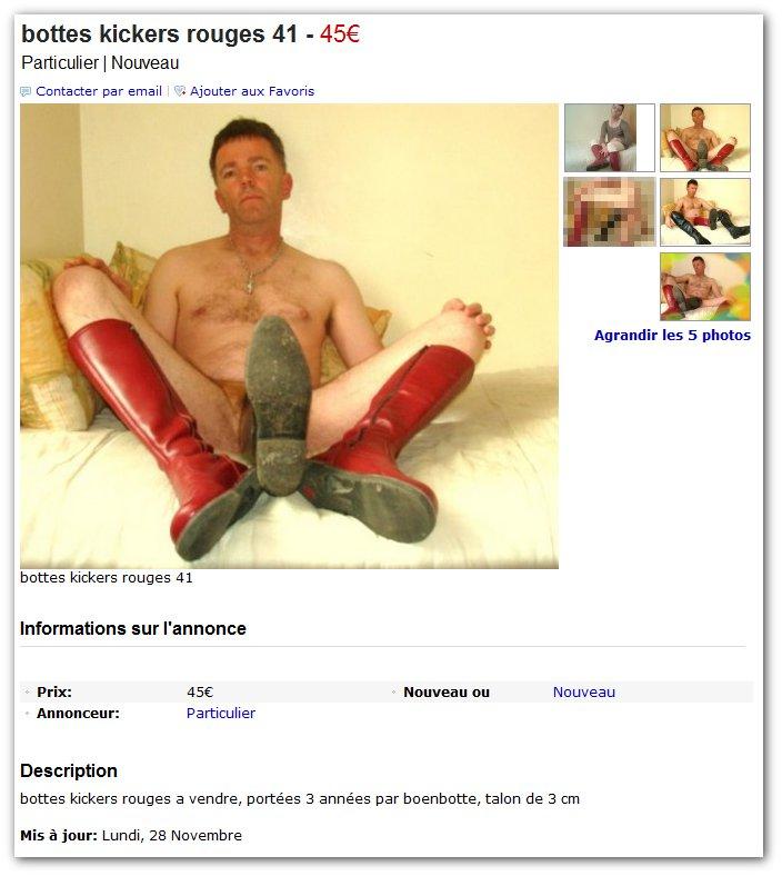 Coucou, tu veux voir mes bottes?