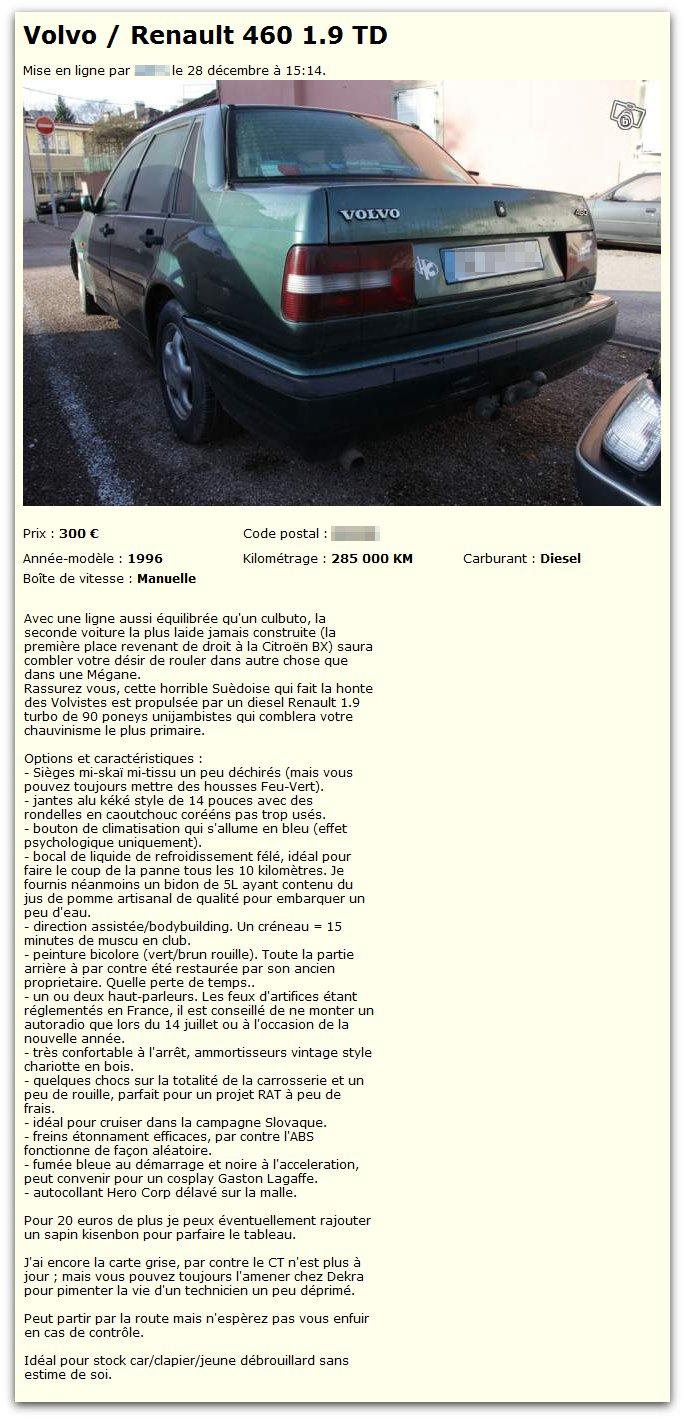Volvo Renault 460 1.9 TD