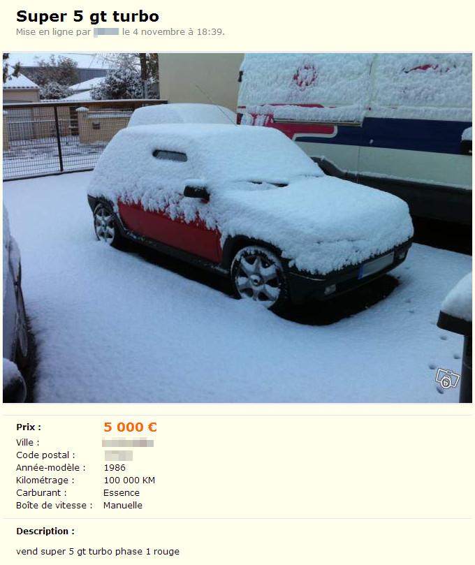 Voitures, neige, et photos d'illustration.
